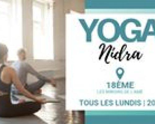 Yoga Nidra - Yoga du sommeil avec Joyce